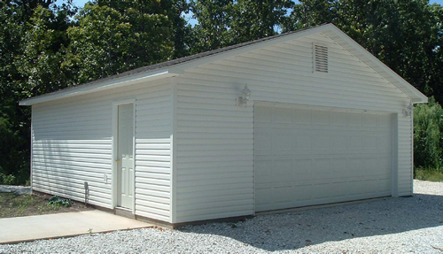 Garages of joplin mo good will builders inc for 24x36 pole building